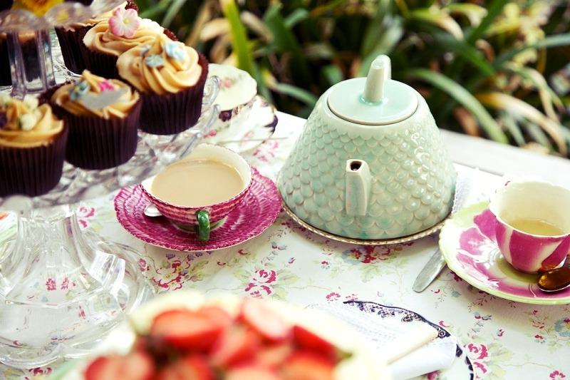 The trousseau tea party